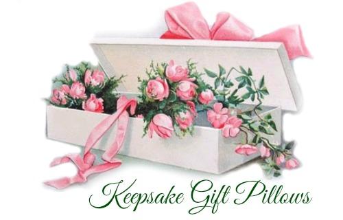 Keepsake gift pillows