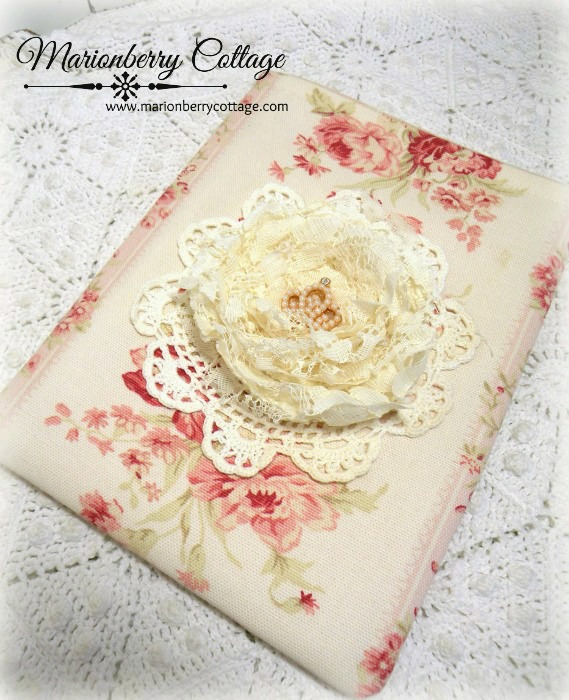 Kindle/tablet/Ipad mini Sleeve elegant lace rose