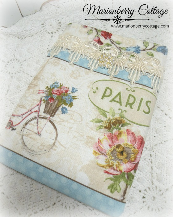 Kindle/tablet/Ipad mini Sleeve Paris flower market