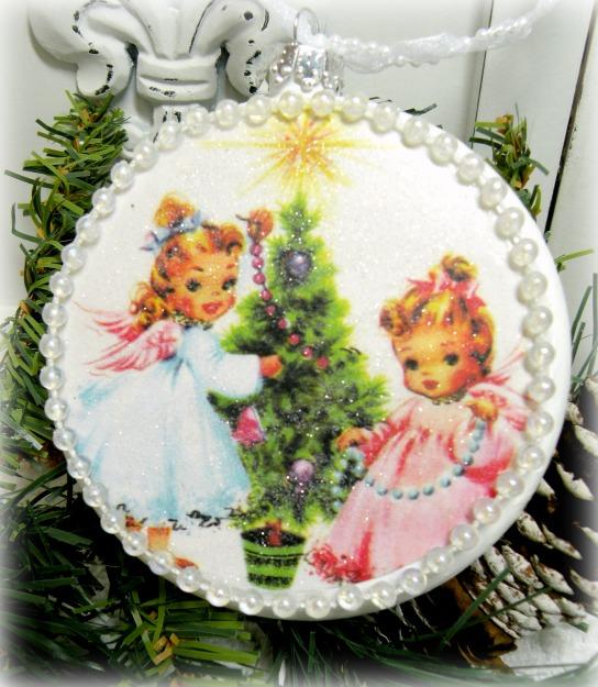Little Angels ornament