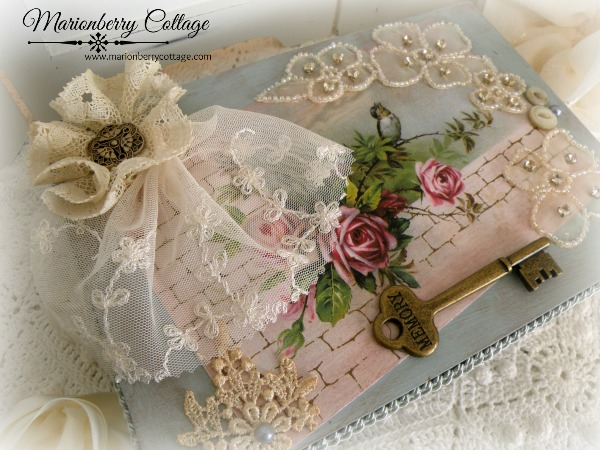 Roses & Memories Keepsake box