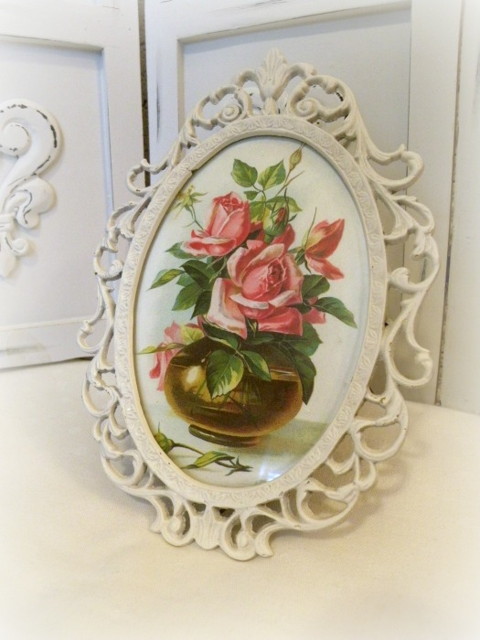 Romantic Framed Victorian art