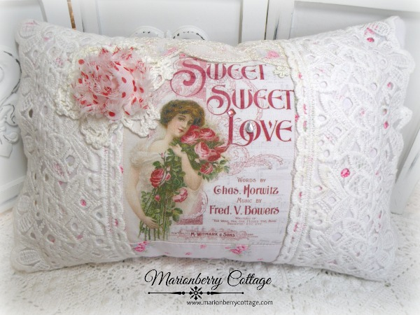 KEEPSAKE pillow Sweet Sweet Love