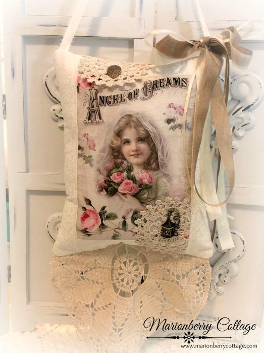 Angel of Dreams Keepsake Pillow w/gift tag and sachet