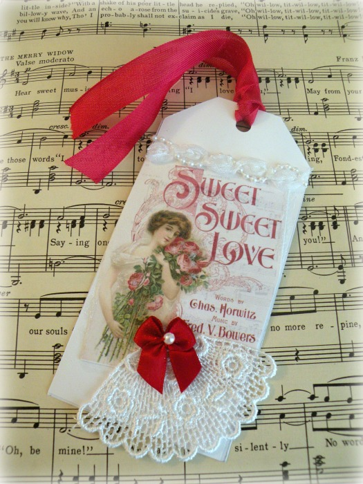 Sweet Love gift tag