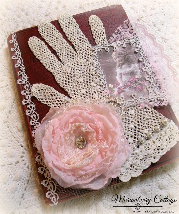 VIntage 1908 embellished song book