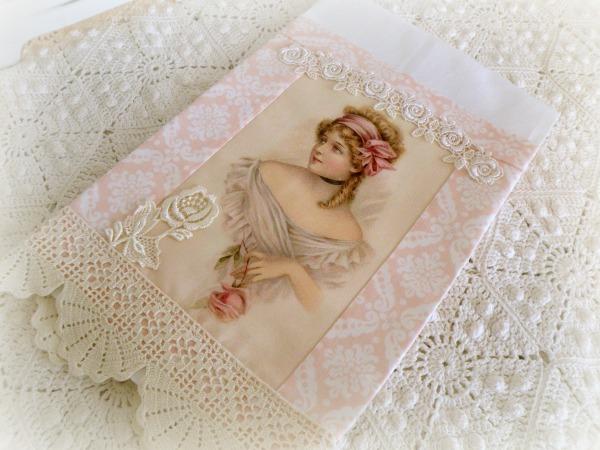Guest tea towel Victorian Lady