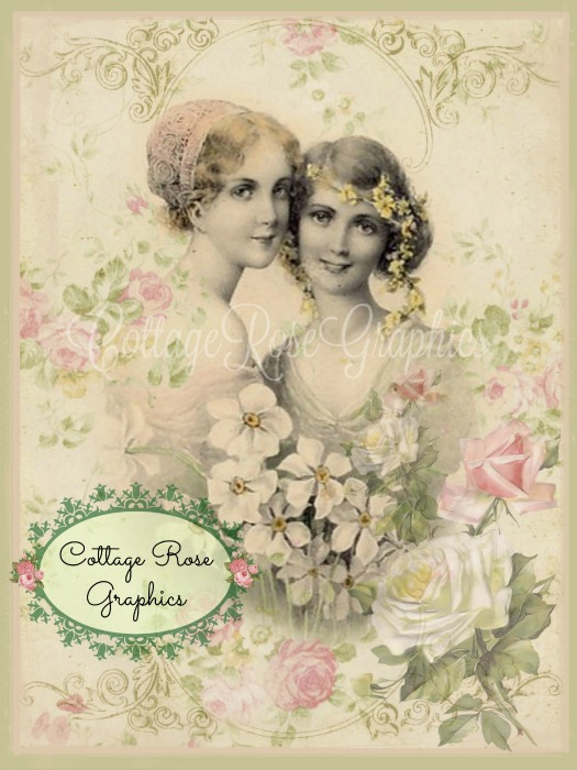 Victorian Friends art print