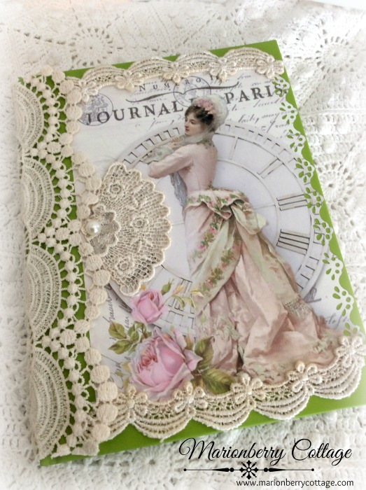 French Romance embellished journal