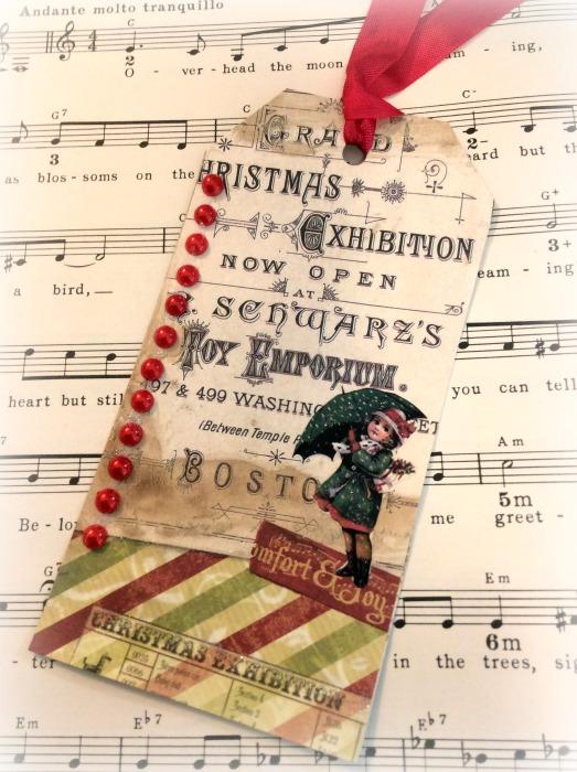 Grand Christmas jumbo gift tag