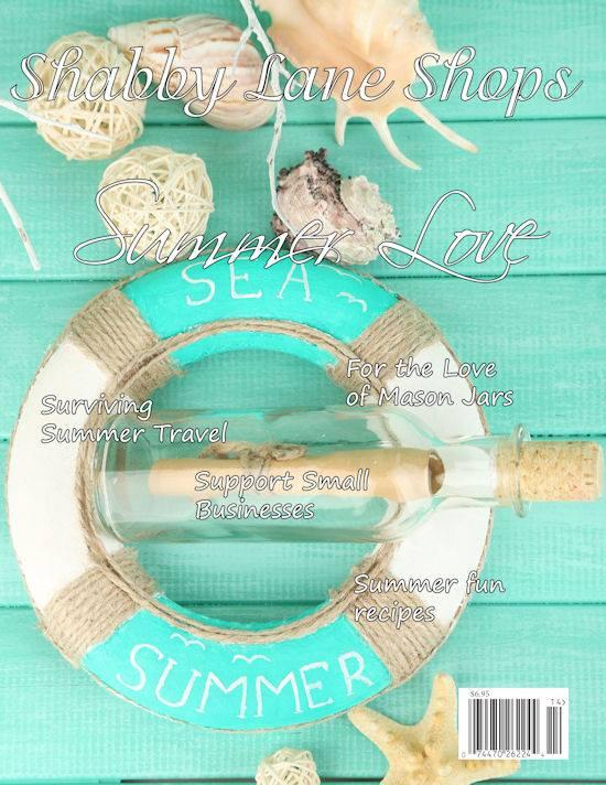 Shabby Lane Shops Summer 2014 Magazine